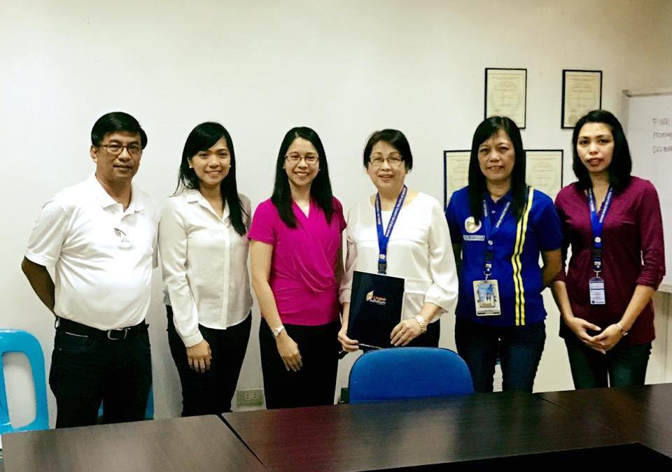 MOA signing with Pamantansan ng Lungsod ng Muntinlupa